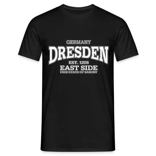 Männer T-Shirt von American Apparel - T-Shirts Dresden (white)