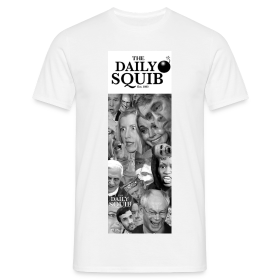 Men's Daily Squib Collage 2 T-Shirt ~ 4