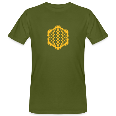 Flower of life, Lotus-Flower, vector, c, energy symbol, protection symbol T-Shirts