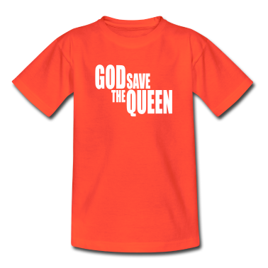 God save the Queen I Kids' Shirts