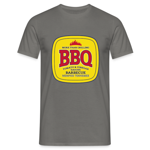 Männer T-Shirt klassisch - T-Shirts BBQ Barbecue - More Than Grilling