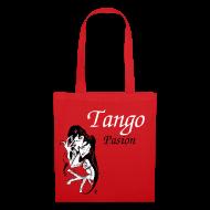 Tasche Rot - Romantische Tango Paar