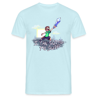 T-Shirts ~ Men's Standard T-Shirt ~ I Can Swing My Sword (Minecraft Diamond Sword Song)