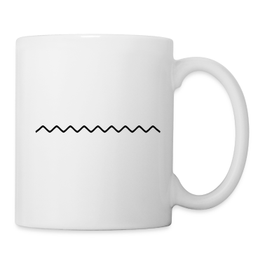 sinuous line Mugs