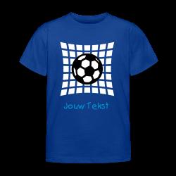 kinder voetbal shirt met jouw tekst
