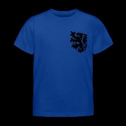 wk kinder t-shirt met retro leeuwtje