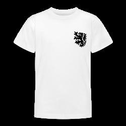 wk tiener t-shirt met retro leeuwtje