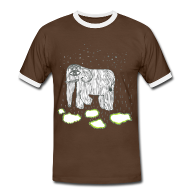 T-Shirts ~ Men's Ringer Shirt ~ Elephant