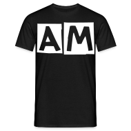 T-Shirts ~ Men's Standard T-Shirt ~ Awful Modifications 'AM' logo tee.