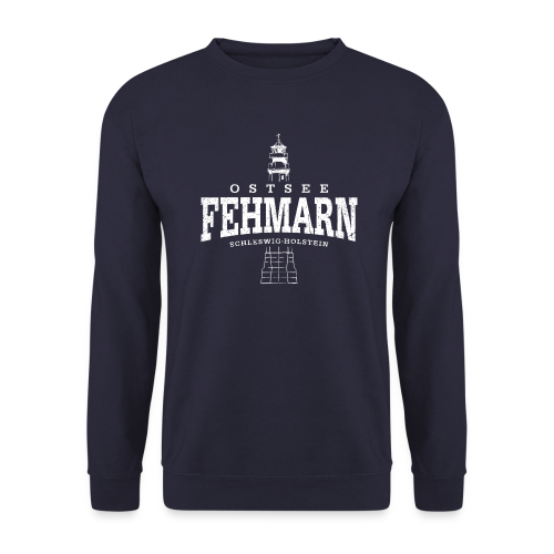 Männer Pullover - Pullover & Hoodies Fehmarn Ostsee (weiss oldstyle)