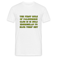T-Shirts ~ Men's Standard T-Shirt ~ The first rule of Palindrome Club