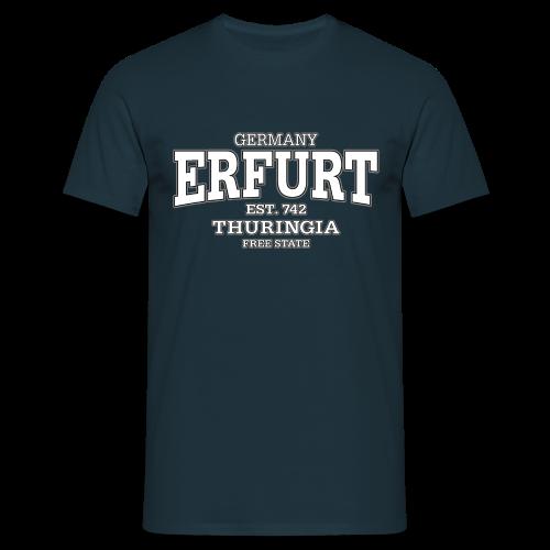 Männer T-Shirt klassisch - T-Shirts Erfurt Thüringen (white)