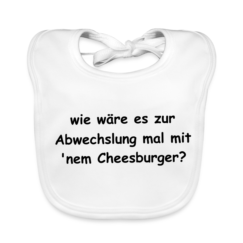 Cheeseburger-Latz Baby