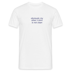 Obviously - Men's T-Shirt