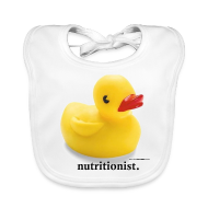 Accessories ~ Baby Organic Bib ~ Childish Visual Gag.