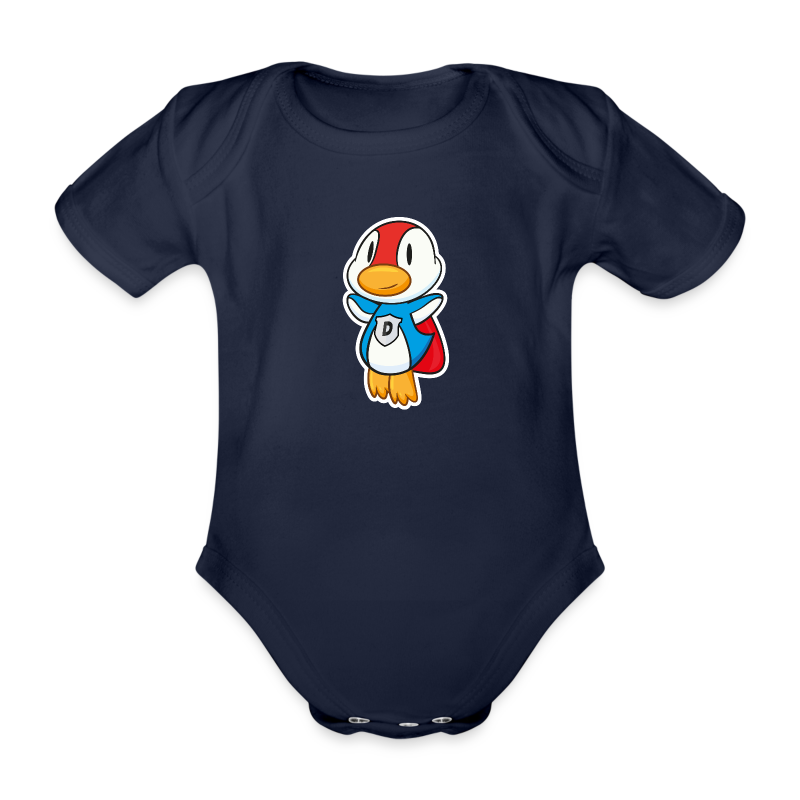 Fliegende Super-Ente Baby Body