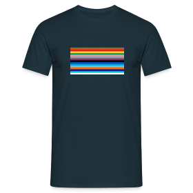 All the lines - Men's T-Shirt