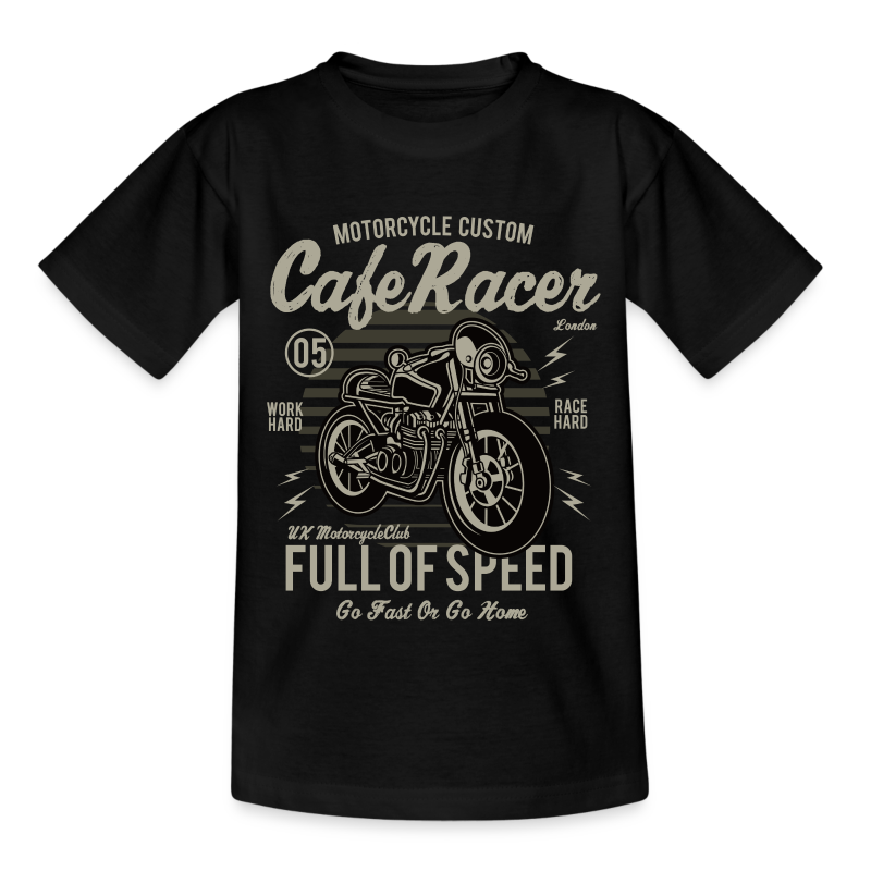 Kids' T-Shirt - Cafe Racer v1 - Kids' T-Shirt