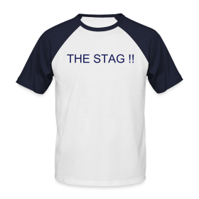 Stag/Team T-shirt - Your Text Front & Back ~ 0