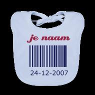 slabbetje streepjescode met je geboortedatum