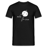 T-Shirts ~ Men's Standard T-Shirt ~ Moon On A Stick T-Shirt