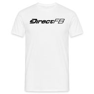 T-Shirts ~ Men's Standard T-Shirt ~ DirectFB (simple, white)