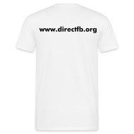 T-Shirts ~ Men's Standard T-Shirt ~ DirectFB (double, white)