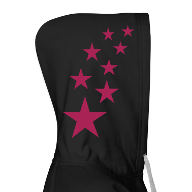 Black Top Stars Ladies' Longsleeves
