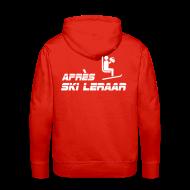 sweater met capuchon apres ski leraar