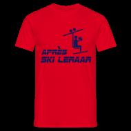apresski leraar t-shirt