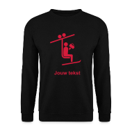 skilift sweater met jouw tekst