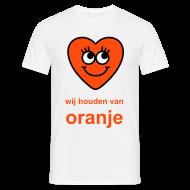 wij houden van oranje of je eigen tekst