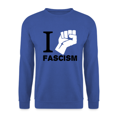 Red I fight Fascism Jumpers
