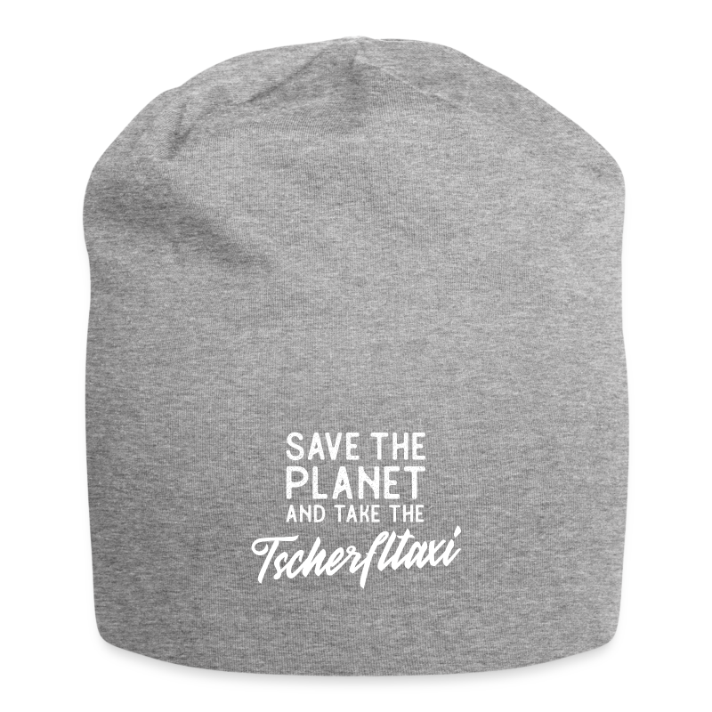 Save the planet and take the Tscherfltaxi - Jersey-Beanie