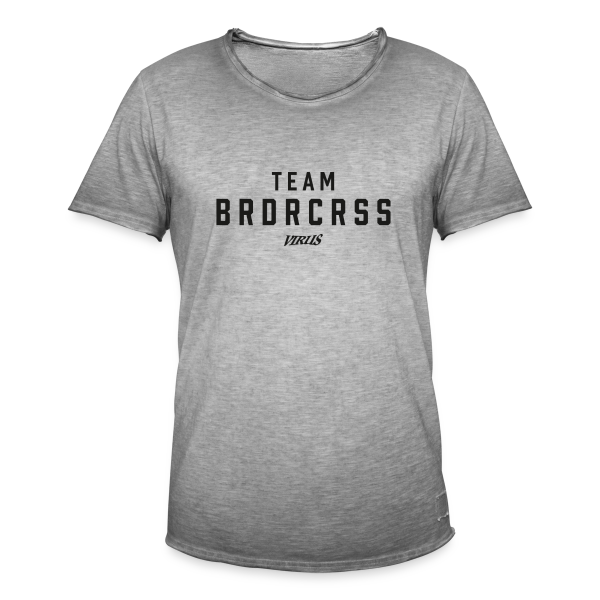 Virus TEAM BOARDERCROSS - Männer Vintage T-Shirt