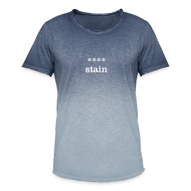 xxxx-stain - Men's T-Shirt with colour gradients