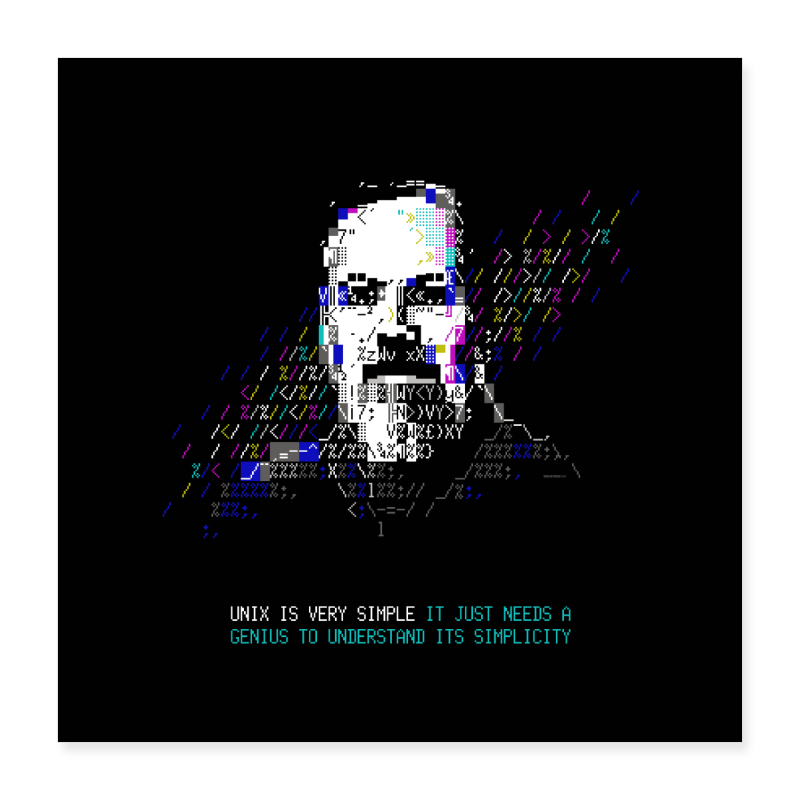 "Tech Heroes - Ritchie - Poster 16"" x 16"" (40x40 cm)"