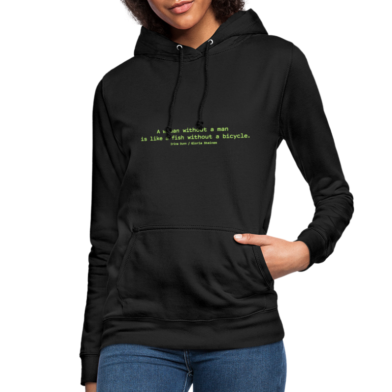 A woman without a man - Women's Hoodie