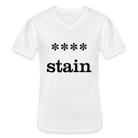 xxxx-stain - Men's V-Neck T-Shirt
