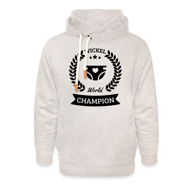 Baby Wickel World Champion - Unisex Schalkragen Hoodie