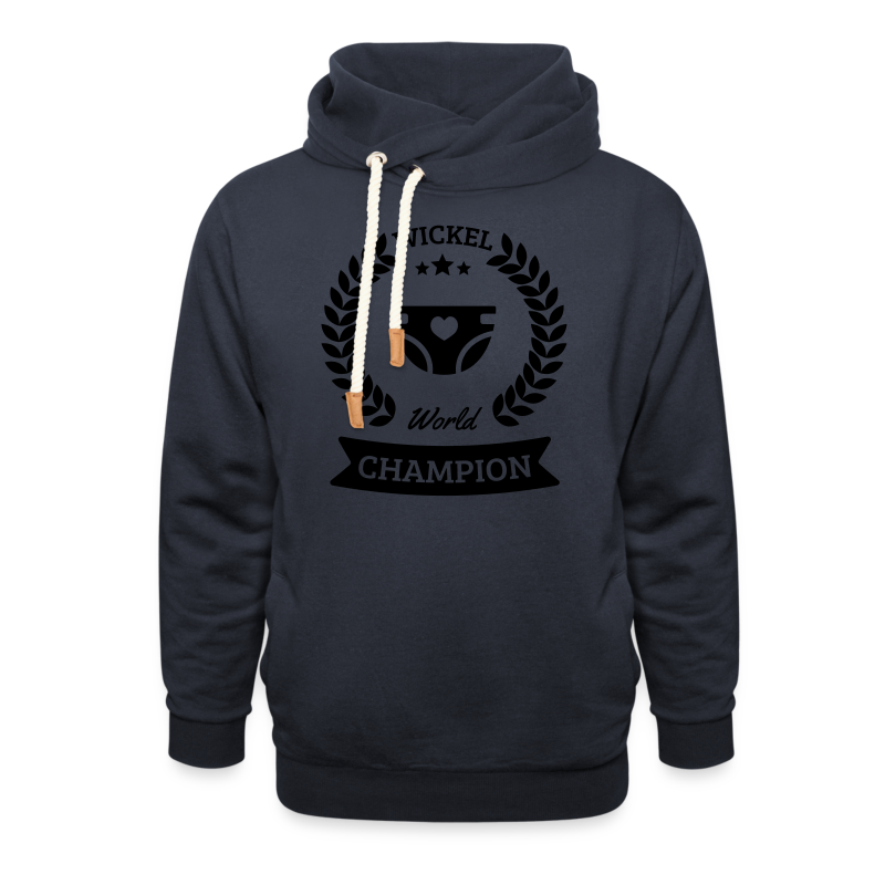 Baby Wickel World Champion - Schalkragen Hoodie