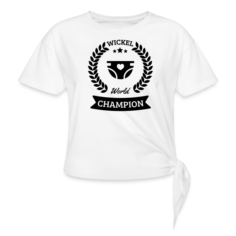 Baby Wickel World Champion - Knotenshirt