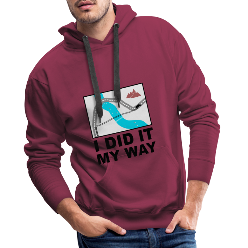 I did it my way - Offroad Design - Männer Premium Hoodie