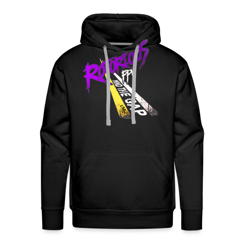 Rotorious OG - Mind the Gap - Men's Premium Hoodie