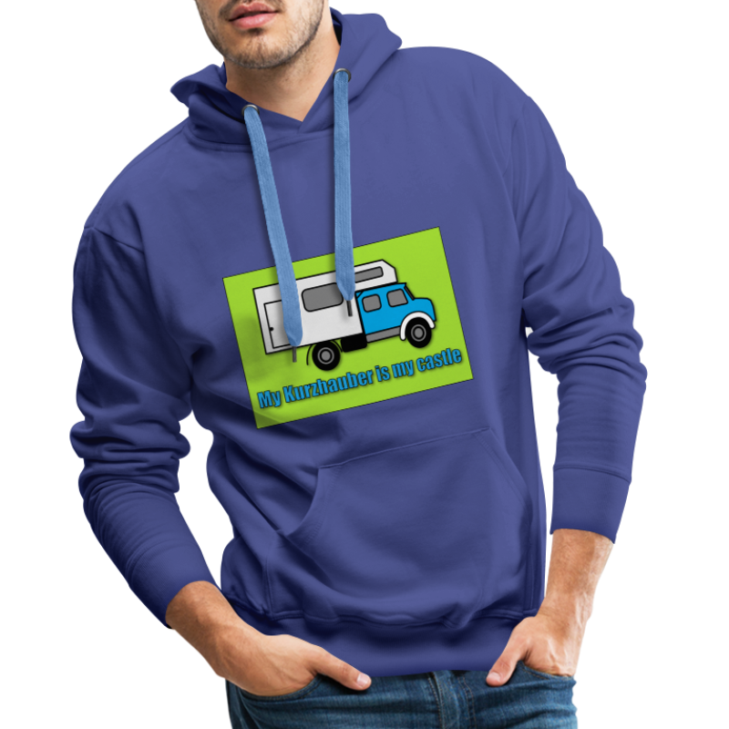 My Kurzhauber is my castle - Männer Premium Hoodie