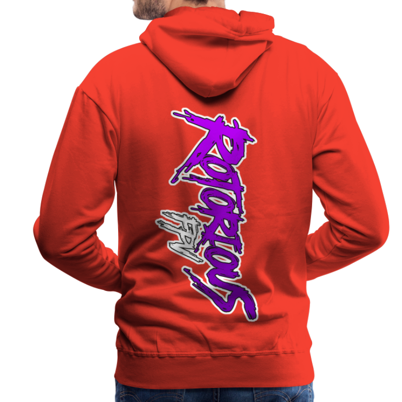 Rotorious FPV OG Logo Vertical - Men's Premium Hoodie