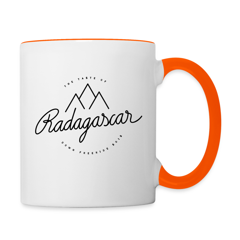 The taste of radagascar - Contrasting Mug