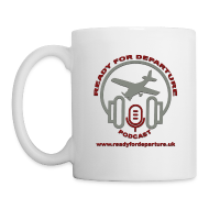 Ready for Departure podcast - Mug
