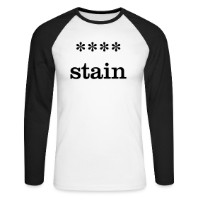 xxxx-stain - Men's Long Sleeve Baseball T-Shirt