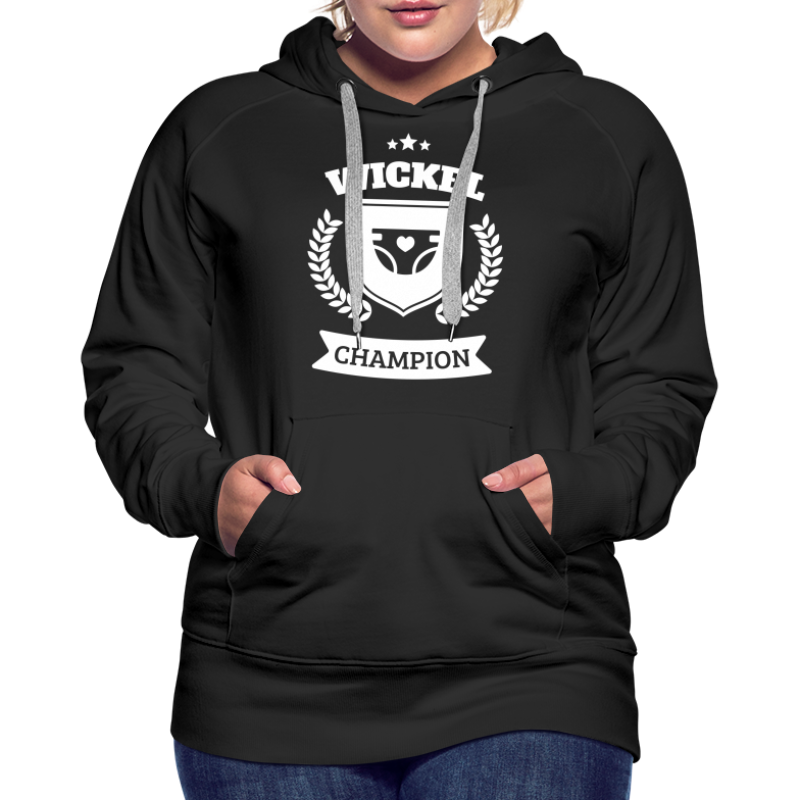 Windel Wickel Wechsel Champion - Frauen Premium Hoodie